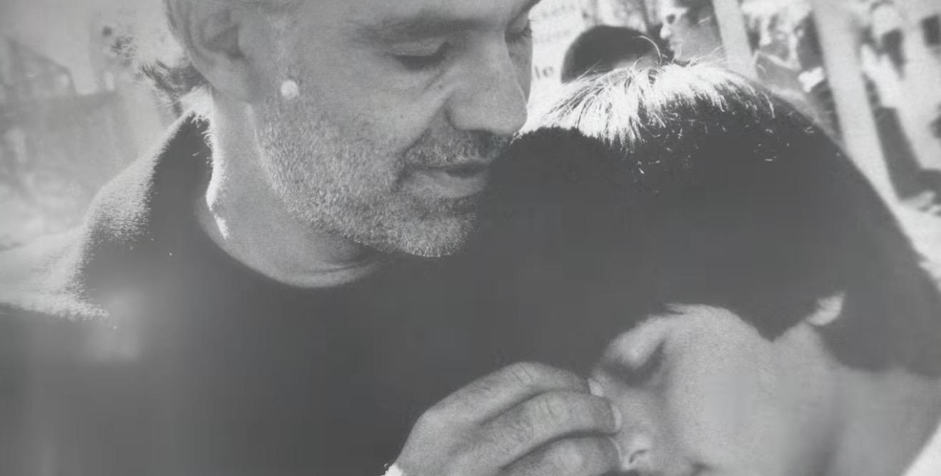 Andrea Bocelli con Matteo