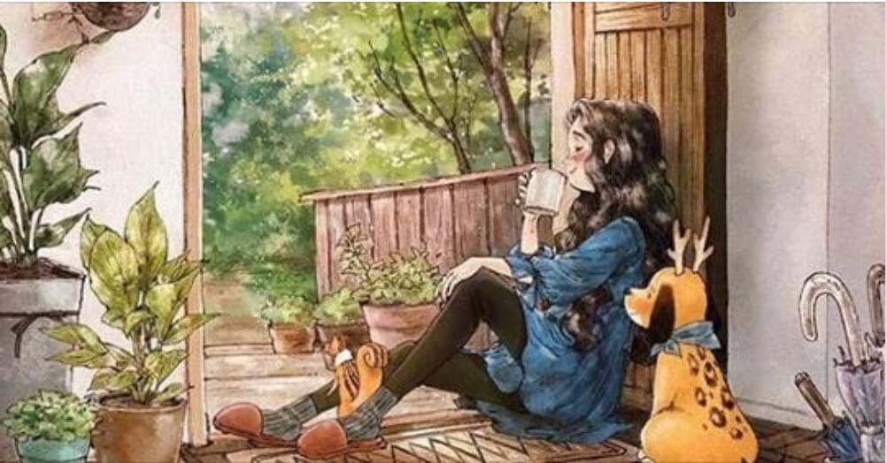 La solitudine può essere meravigliosa: 10 illustrazioni che lo dimostrano
