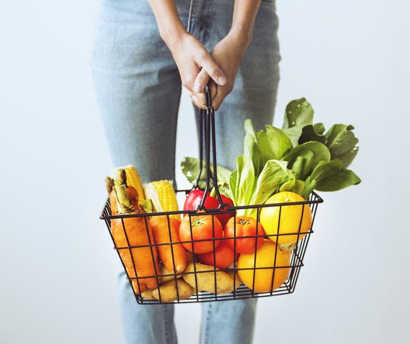 Cestino di verdura