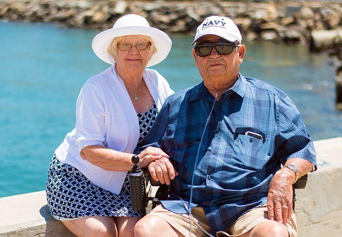 Due anziani signori
