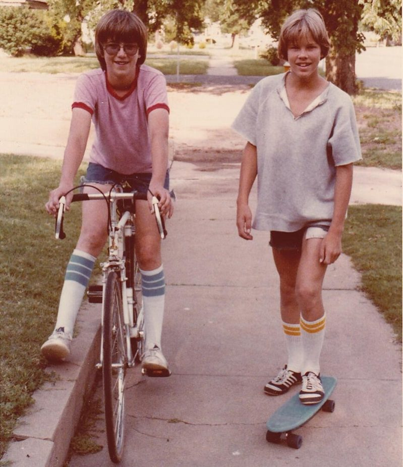 Abbigliamento sportivo anni 70