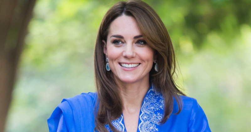 Kate Middleton in Pakistan, il look