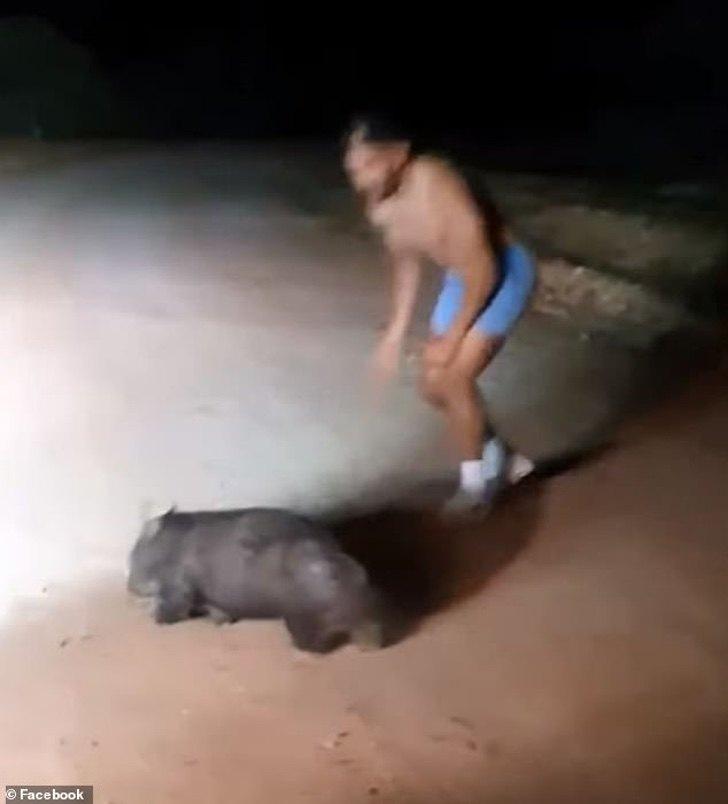 le scene terribili dell'agente di polizia australiano