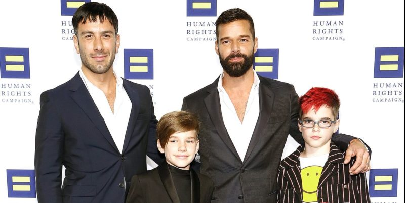Ricky Martin padre per la quarta volta