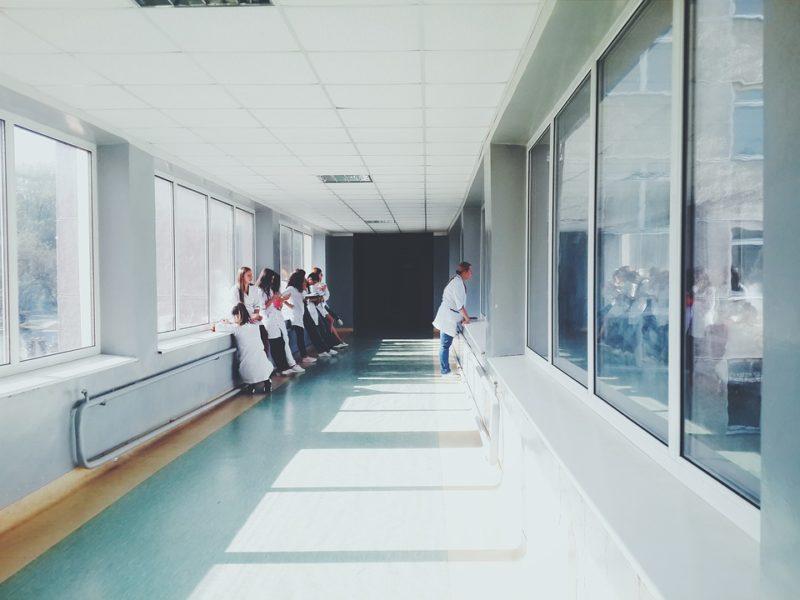 Rissa in ospedale