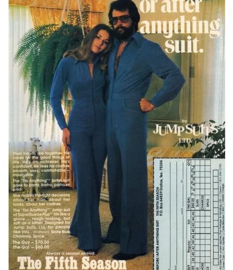 Tailleur anni 70