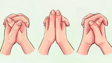 Photo of Test psicologico: il modo in cui intrecci le mani rivela gli aspetti più nascosti della tua personalità