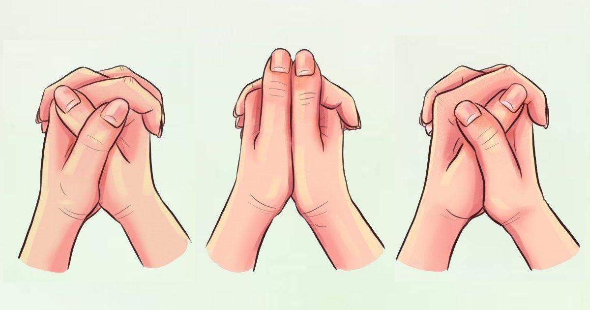 Modo intrecci le mani
