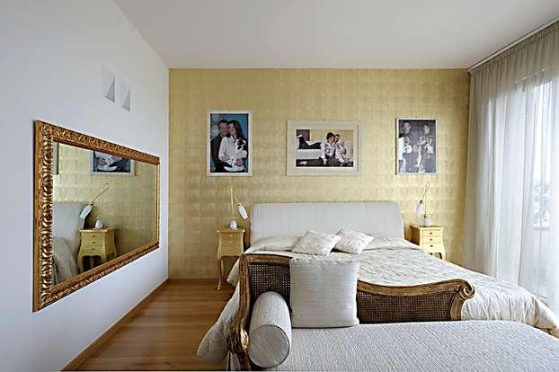 La camera da letto di gusto barocco