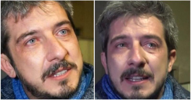 Paolo Ruffini disperato. Tutta colpa de Le Iene