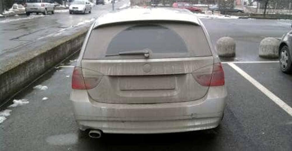 Auto sporca? Rischi una multa da capogiro