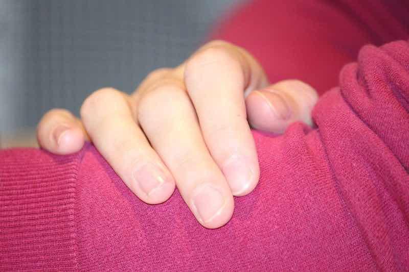 mezzelune unghie
