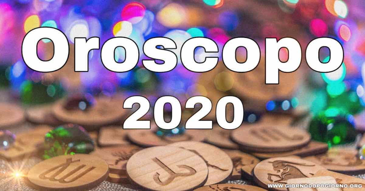 Oroscopo anno nuovo 2020