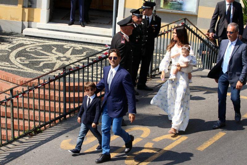Silvia Toffanin e Piersilvio Berlusconi sposi