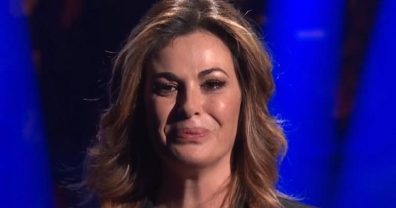 La perfezione non esiste, Vanessa Incontrada piange in diretta
