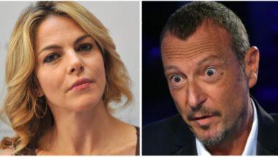 "Photo of Sanremo 2020. Claudia Gerini indignata con Amadeus. ""È un retrogrado!"""