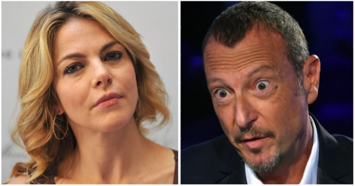 Sanremo 2020. Claudia Gerini si indigna con Amadeus