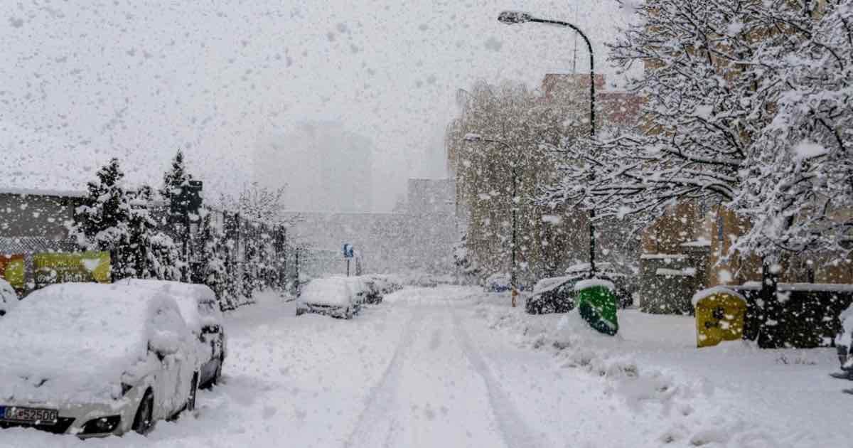 Previsioni meteo: neve in arrivo nel fine settimana