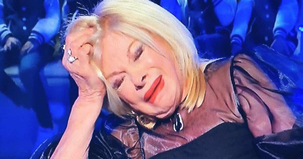 Sandra Milo in lacrime a Domenica In