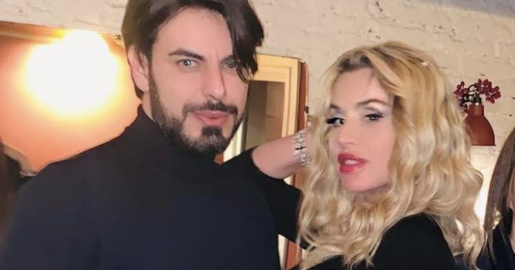 Valeria Marini presenta il suo fidanzato