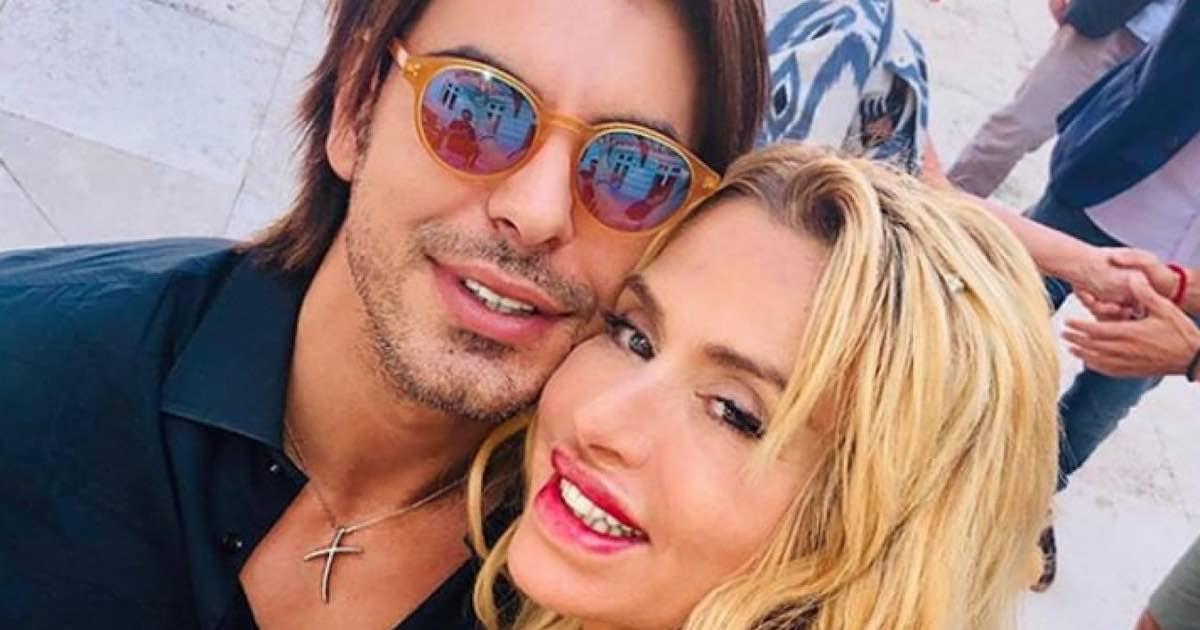 Valeria Marini presenta il suo fidanzato Gianluigi Martino