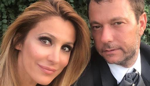 Adriana Volpe e il marito