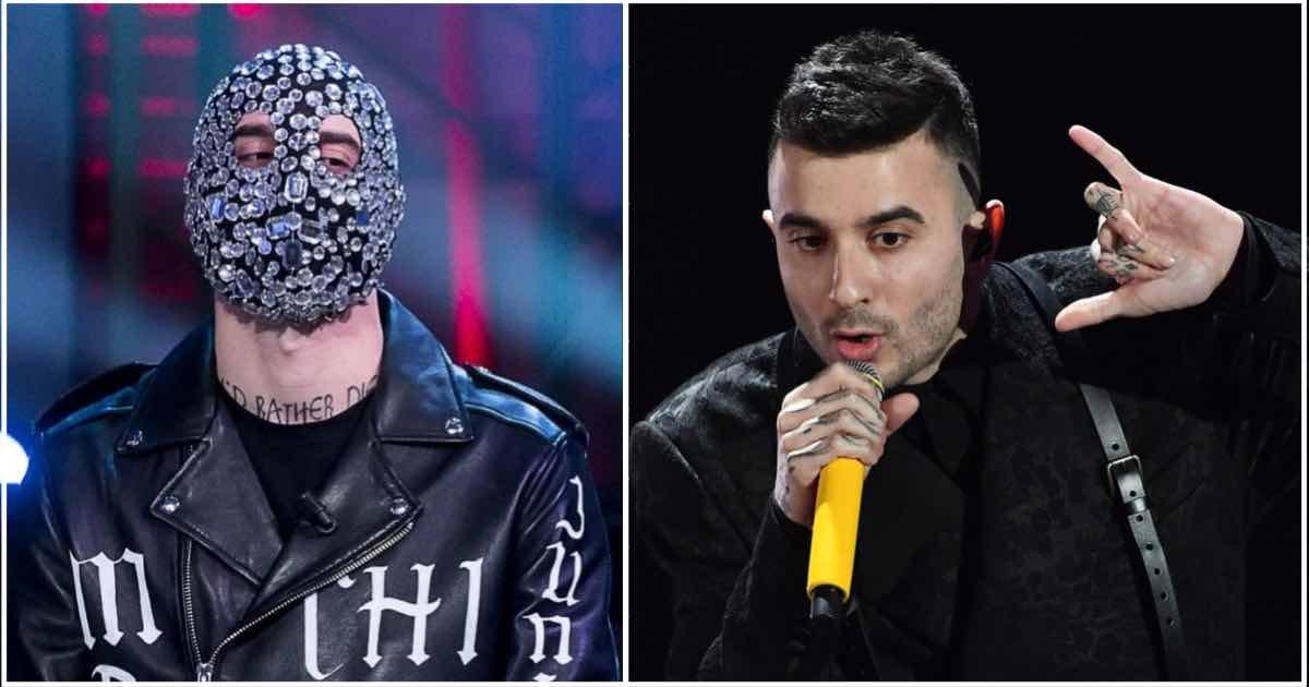Junior Cally si esibisce senza maschera a Sanremo 2020