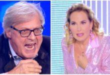 """Photo of Vittorio Sgarbi insulta Barbara D' Urso """"Vai a … tu e la tua inutile vita"""""""