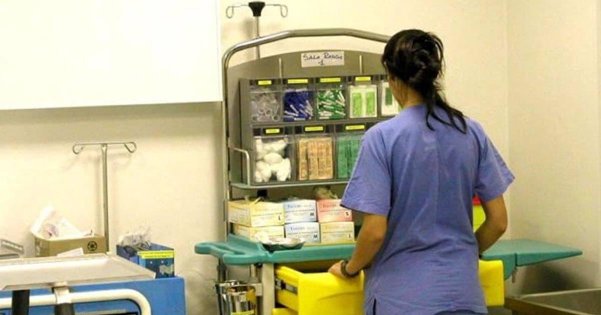 Mara Zara infermiera