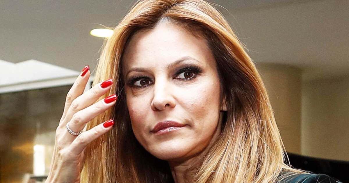 Adriana Volpe furiosa per la lettera del marito