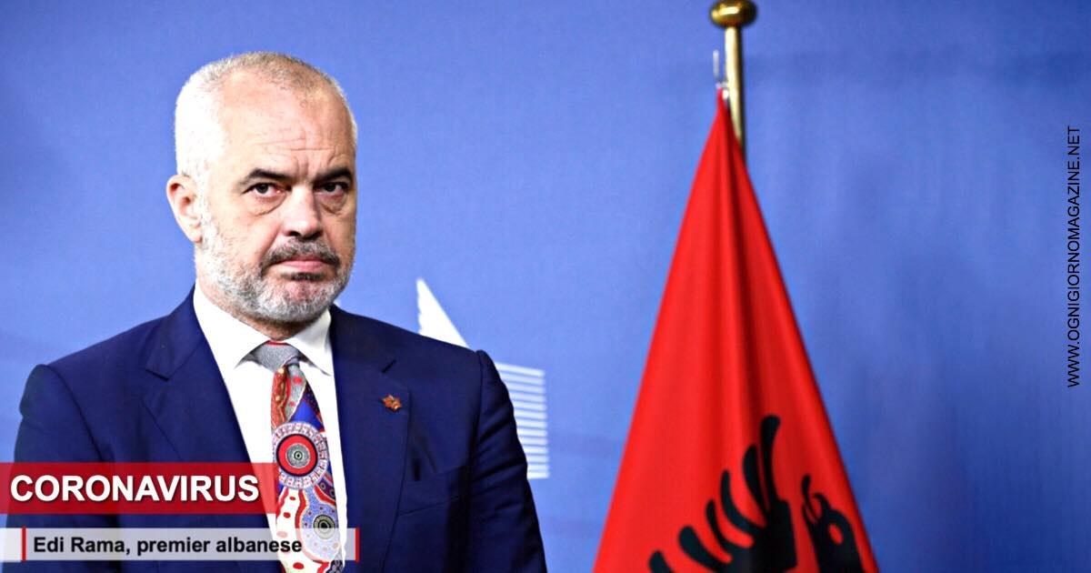 Coronavirus, premier albanese dà una lezione all' UE