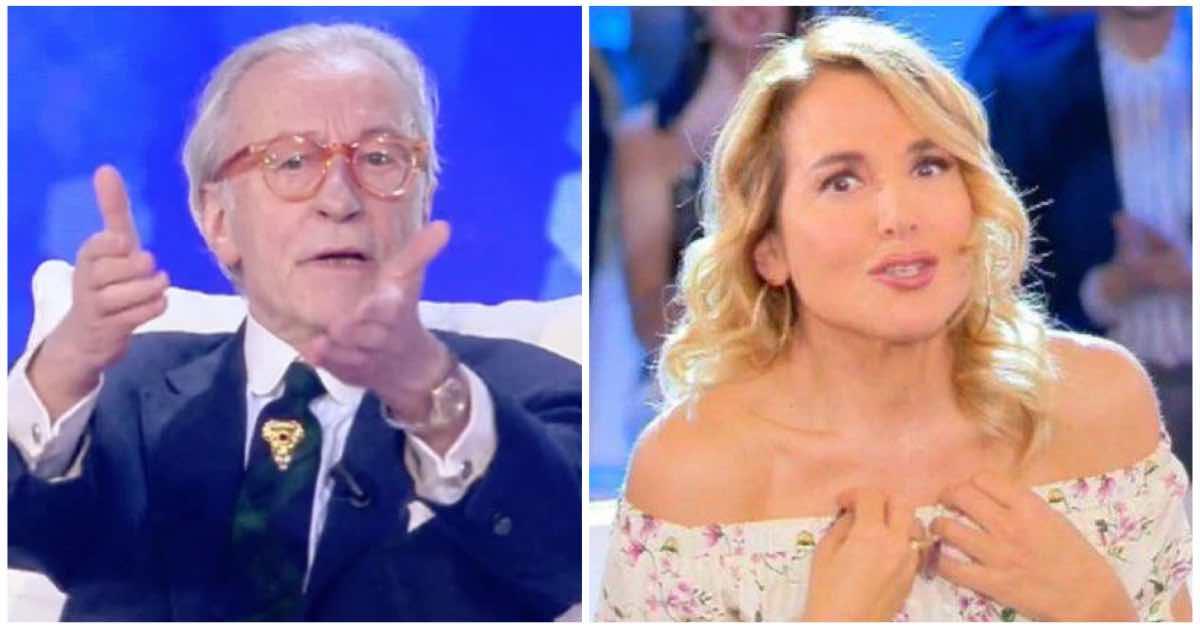 Vittorio Feltri contro Barbara D'Urso attacca il suo programma