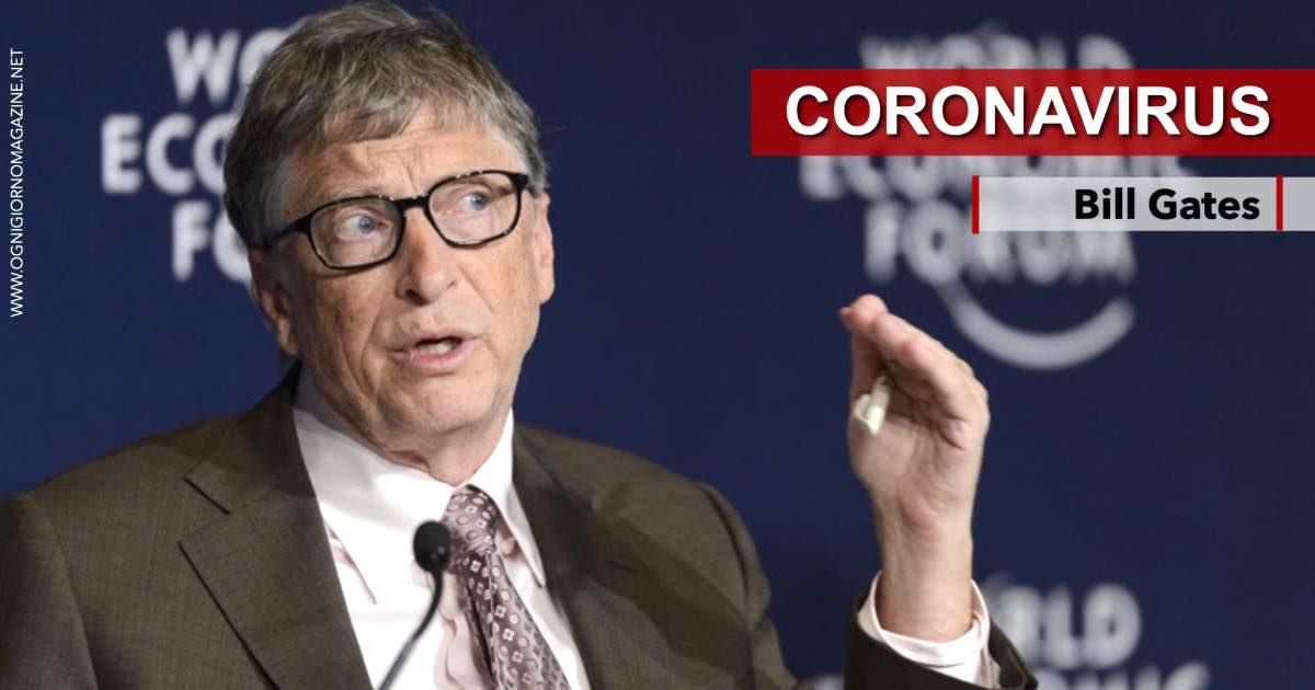 Bill Gates Coronavirus Un evento previsto