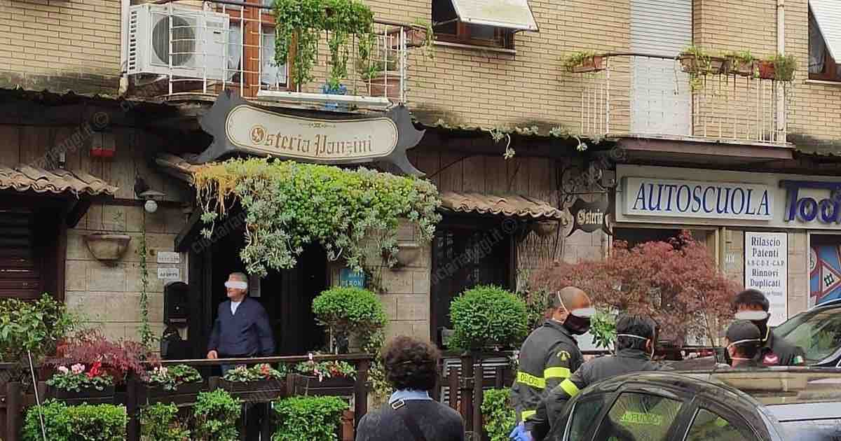 Chef Panzini minaccia di darsi fuoco davanti al suo ristorante