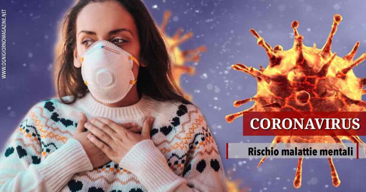 Coronavirus, atteso picco malattie mentali