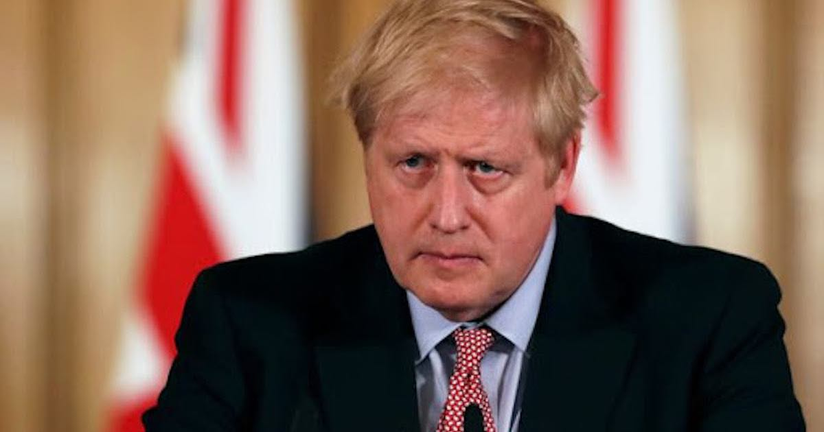 Coronavirus. Boris Johnson