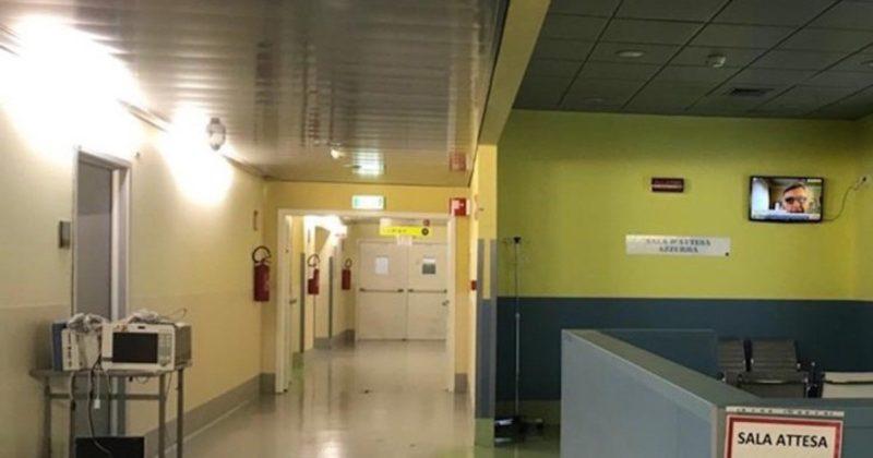 Coronavirus. il pronto soccorso di Bergamo