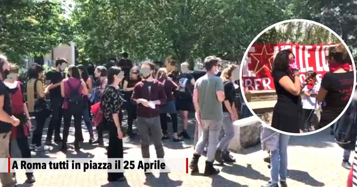 Il 25 Aprile tutti in piazza a Roma a festeggiare