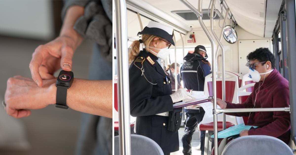 Il braccialetto per tenere sotto controllo