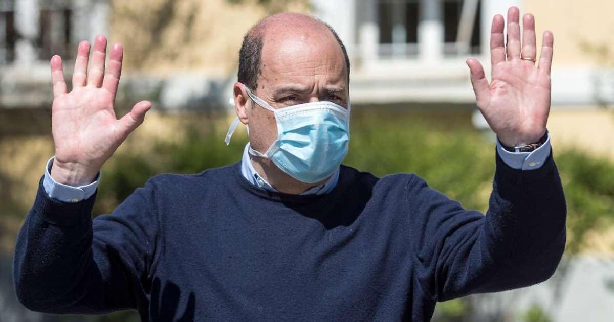 Nicola Zingaretti butti giù la maschera