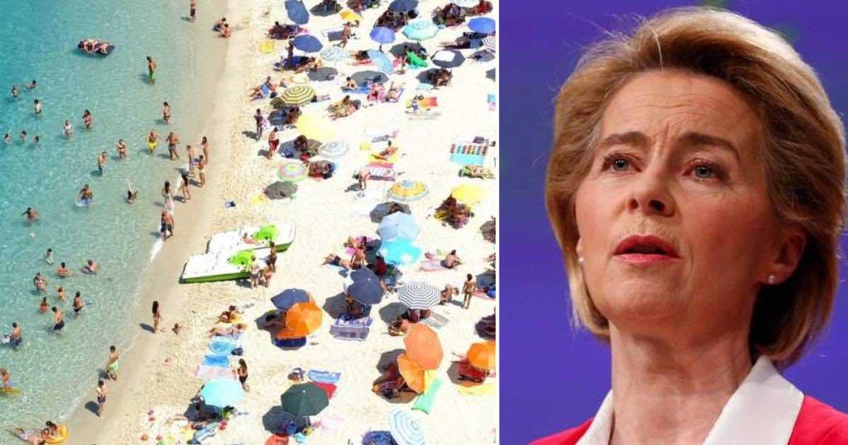 Ursula Von Der Leyen invita a non fare piani per vacanze estive