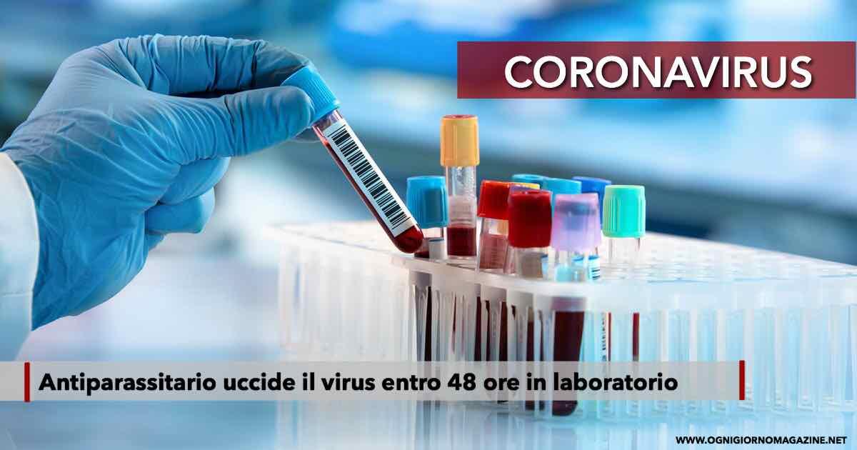 Antiparassitario efficace contro il virus