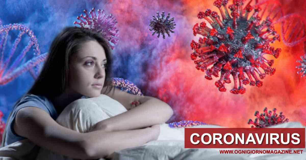 Coronavirus, disturbi del sonno