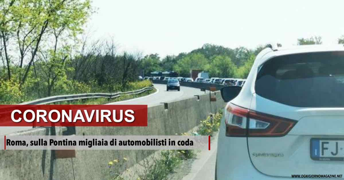 A Roma caos sulla Pontina
