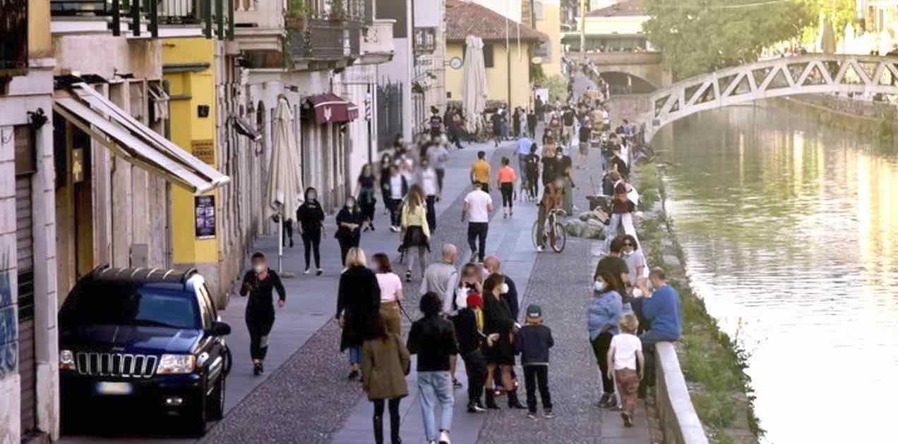 Fase 2 a Milano Sala