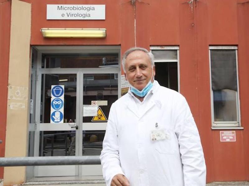 Il virologo Arnaldo Caruso