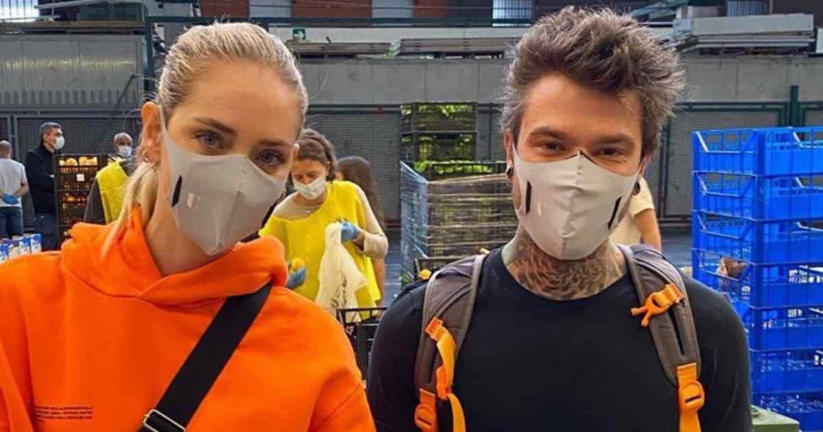 Coronavirus. Fedez e Chiara Ferragni, ennesimo gesto di solidarietà