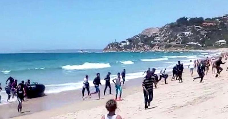 migranti sbarcati in Sicilia