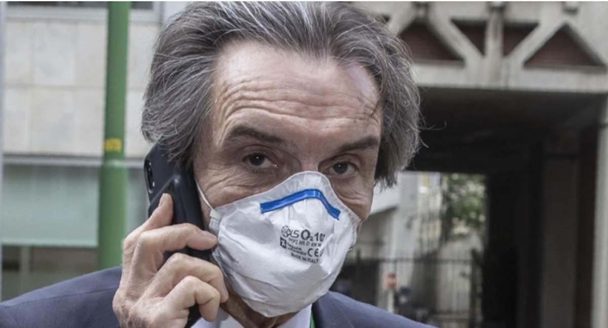 Attilio Fontana sotto accusa per la fornitura di camici ordinata alla moglie dalla regione