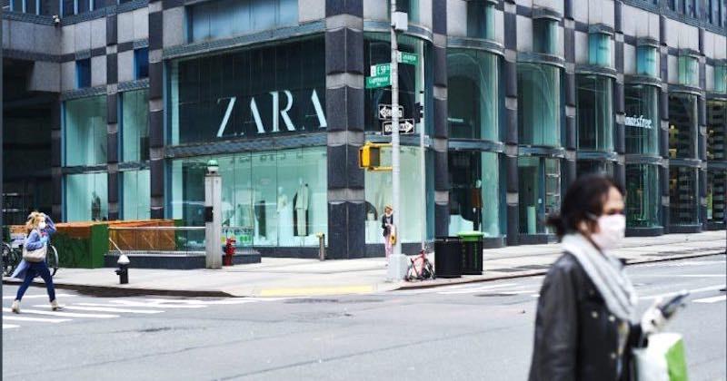 Zara chiude punti vendita